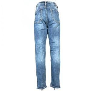 Silver suki super high skinny jeans 33x29
